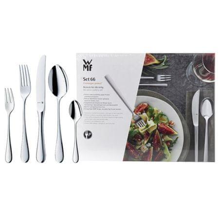 WMF Set jedilnega pribora 66 kosov KENT z monoblok noži, Set jedilnega pribora 66 kosov KENT z monoblok noži