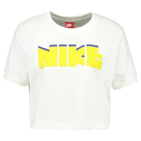 Nike W NSW TEE CROP ARCHÍVUM, 10. | NSW EGYÉB SPORT | NŐK | Rövid ujjú póló | SAIL | VAL VEL