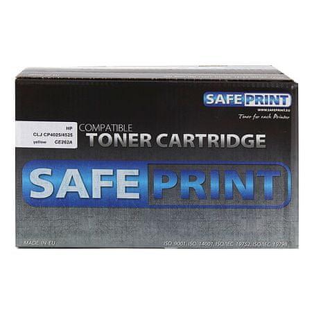 Safeprint Toner sárga | 11000str | HP CE262A | LJ CP4025 / 45, Lézernyomtatók festékek |