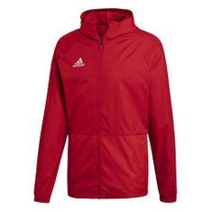 Adidas CON18 RAIN JKT POWRED/WHITE | - L