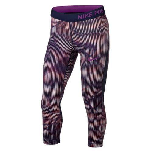 Nike G NP HPRCL CPRI AOP1, 10 | YOUNG Athletes | GIRLS | 3/4 LENGTH TIGHT | SUNSET TINT / BINARY BLUE / BOLD B | L