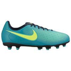 Nike JR MAGISTA OLA II FG, 20 | FOOTBALL/SOCCER | GRD SCHOOL UNSX | LOW TOP | RIO TEAL/VOLT-OBSIDIAN-CLEAR J | 3.5Y