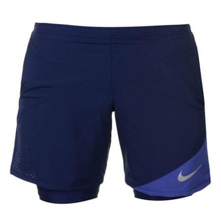 Nike M NK FLX 2IN1 7IN Távolság, 10.   Futás   MENS   RÖVID - 2 IN 1   BINÁRIS KÉK / PURPLE COMET   VAL VEL
