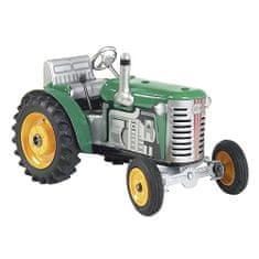 KOVAP Traktor Zetor, zelený, žluté kov. disky