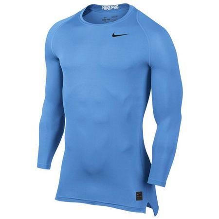Nike M NP TOP COMP LS CRW, 10. | FÉNYKÉPZÉS | MENS | Hosszú ujjú felső | EGYETEM KÉK / BLU EGYETEM XL