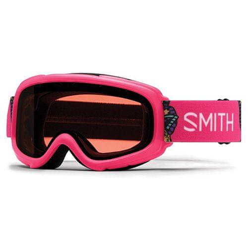 Smith GAMBLER AIR, | detské | snow okuliare | Crazy Pink Butterflies | RC36 Roseč Af | O / S