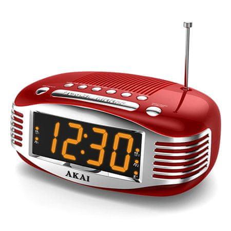 Akai CE-1500 Radiowy budzik w stylu retro, 9204496   CE-1500 Radiowy budzik w stylu retro