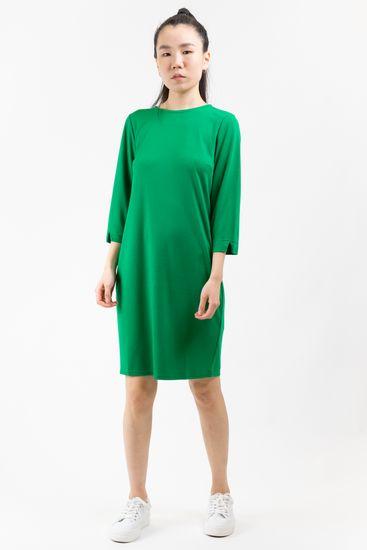 Q/S designed by dámské šaty 41.002.82.2558 XL zelená