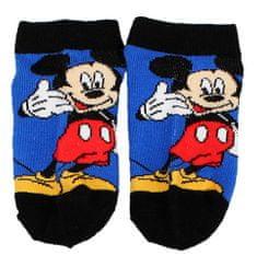 """SETINO Chlapčenské členkové ponožky Mickey """"Hi"""" - modrá"""