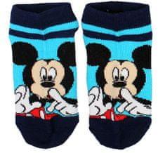 """SETINO Chlapčenské členkové ponožky Mickey """"Psst"""" - modrá"""