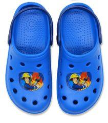 SETINO Chlapčenské sandále Hasič Sam - svetlo modrá