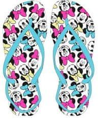 Eplusm Flip-Flops dievčenské žabky Minnie - modrá