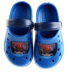 SETINO Chlapčenské sandále Spiderman - svetlo modrá