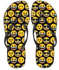 Eplusm Flip-Flops chlapčenské žabky Smile - čierna