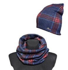 Beera Unisex sapka nyakkendővel - piros / kék