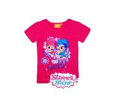"""SETINO Koszulka dziewczęca """"Shimmer i Shine"""" - różowy"""