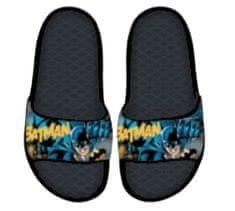 SETINO Chlapčenské gumené šľapky Batman - čierna