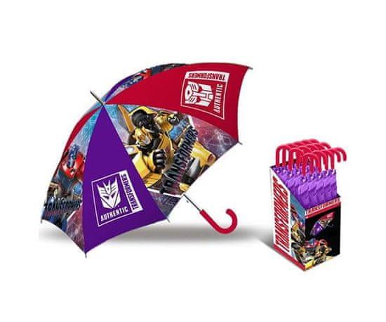 Deštník Transformers - červená