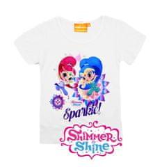 """SETINO Koszulka dziewczęca """"Shimmer i Shine"""" - bialy"""