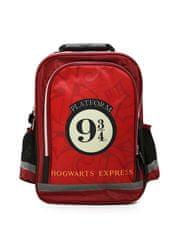 """SETINO Fiú iskolatáska """"Harry Potter"""" - bordó - 30x42x15 cm"""