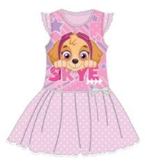 SETINO Detské šaty Paw Patrol - ružová