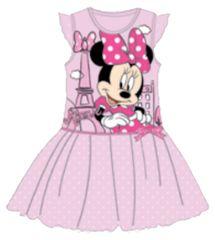 SETINO Dětské šaty Minnie mouse - růžová