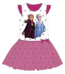 SETINO Dětské šaty Frozen 2 - tmavě růžová