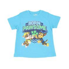 SETINO Chlapčenské tričko s krátkym rukávom Paw Patrol - svetlo modrá