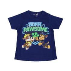 SETINO Chlapčenské tričko s krátkym rukávom Paw Patrol - tmavo modrá