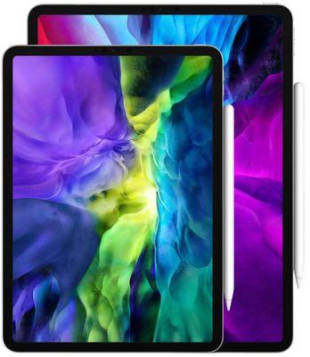 Apple iPad Pro 11 2020, Wi-Fi, duży wyświetlacz Liquid Retina, wyświetlacz TrueTone, realistyczne kolory, wysoka rozdzielczość, duży wyświetlacz, przyjazny