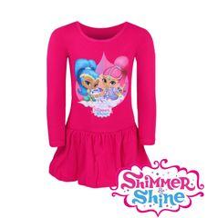 """SETINO Sukienka dla dzieci """"Shimmer i Shine"""" - różowy"""