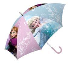 Dievčenský dáždnik Frozen Ružový