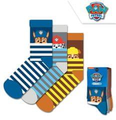 Chlapčenské vysoké ponožky Paw Patrol - 3ks v balení