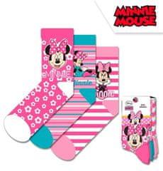 Dievčenské vysoké ponožky Minnie - 3ks v balení