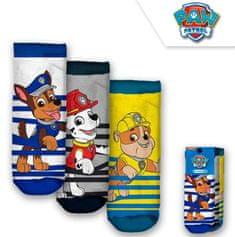 Chlapčenské členkové ponožky Paw Patrol - 3ks v balení