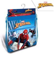 """EUROSWAN Chłopięca torba na obuwie """"Spiderman"""" - niebieski"""