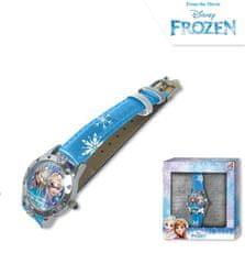 """EUROSWAN Dětské analogové hodinky """"Ledové království"""" modrá"""