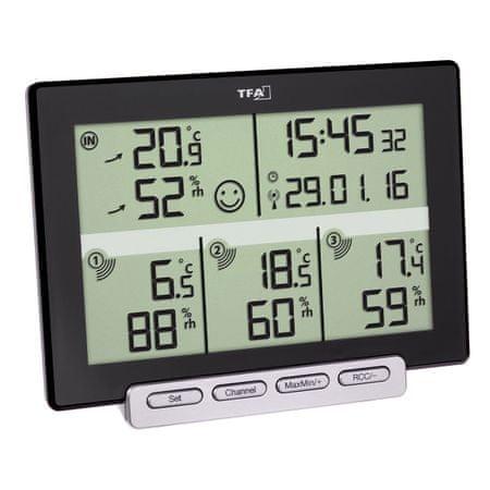 TFA termometr bezprzewodowy 30.3057.01 MULTI-SENS