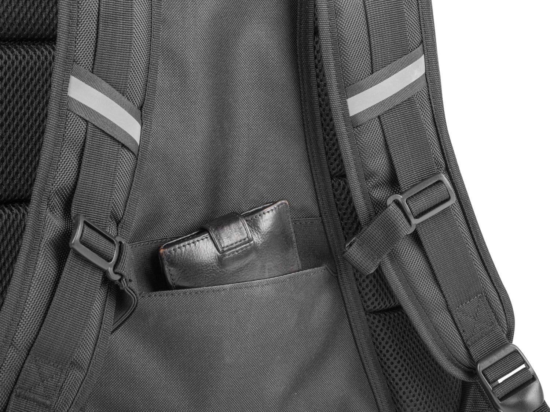 Genesis Pallada 500 batoh pre herné 15,6 / 17,3 notebooky (NBG-0986) bezpečnostné vrecko na doklady a cennosti