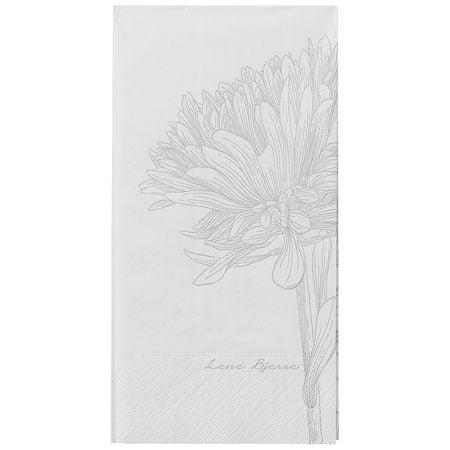 Lene Bjerre Papír szalvéták EVY fehér 40 x 40 cm