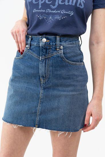 Pepe Jeans dámska sukňa Rachel SKIRT PL900877HD3 S modrá