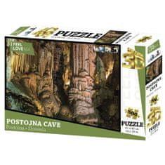 I feel Slovenia 3D sestavljanka, postonjska jama, 500kos, 61x46cm