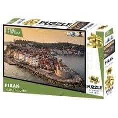 I feel Slovenia 3D sestavljanka Piran, 500kos, 61x46cm