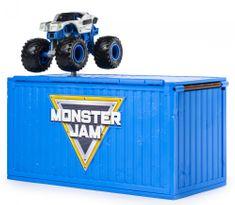 Spin Master Monster Jam Ship it & Flip it! Igralni komplet, 1:64