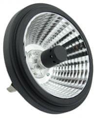 TESLA AR111427-1 - LED žárovka G53, 14W, 12V AC/DC, 700lm, 25°, 2700K, teplá bílá, CRI≥80