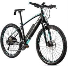 Leader Fox Swan MTB 27,5 električno kolo, 16, mat črno/svetlo zeleno