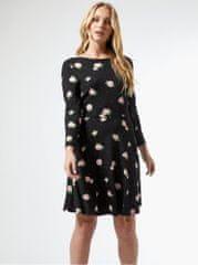 Dorothy Perkins Tall černé květované šaty