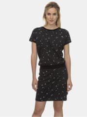 Ragwear černé vzorované šaty Odyl