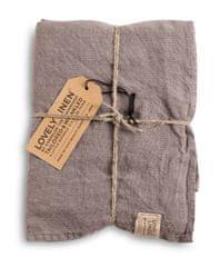 Lovely Linen stolní běžec Misty grey 45x150
