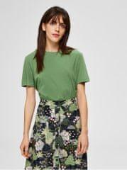 Selected Femme zelené basic tričko My Perfect